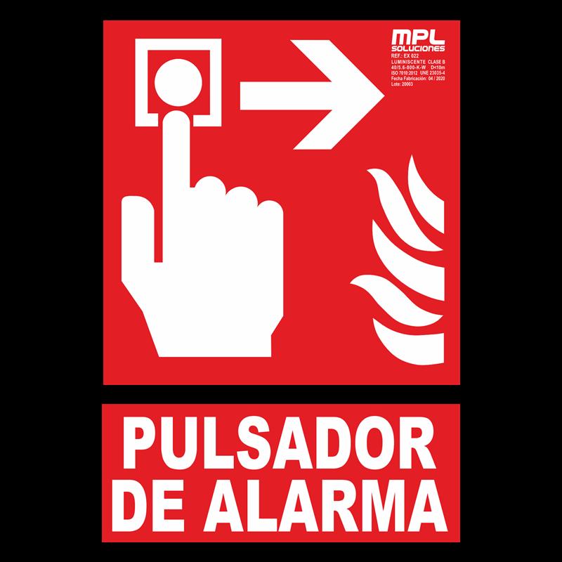 Señal: Extintor de incendios derecha