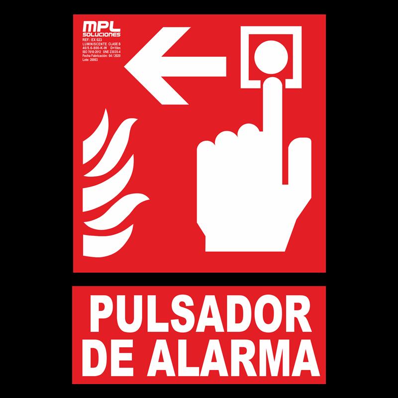Señal: Extintor de incendios izquierda