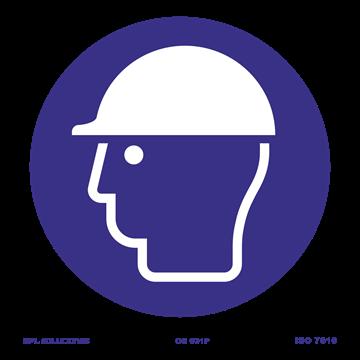 Señal: Uso obligatorio de casco