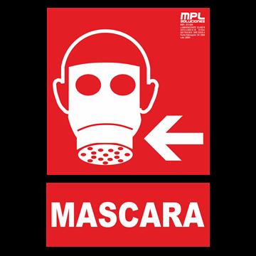 Señal: Mascara izquierda
