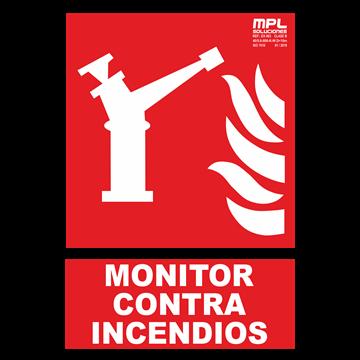 Señal: MONITOR CONTRA INCENDIOS
