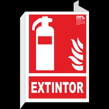 Banderola: Extintor de incendios