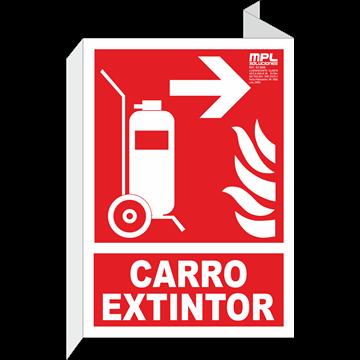 Banderola: Carro extintor derecha