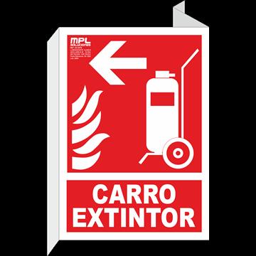 Banderola: Carro extintor izquierda