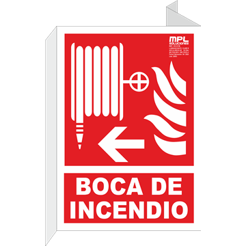 Banderola: Manguera izquierda