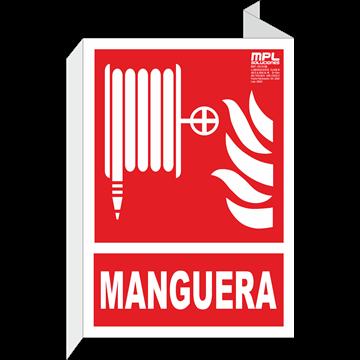 Banderola: Manguera