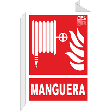 Señal: Manguera