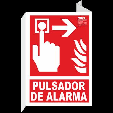 Banderola: Timbre de alarma derecha