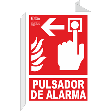 Banderola: Timbre de alarma izquierda