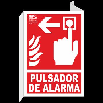 Señal: Timbre de alarma izquierda