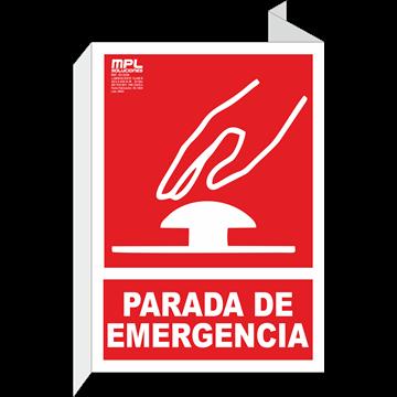 Señal: Parada de emergencia