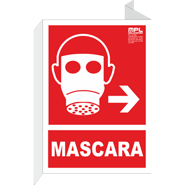 Señal: Mascara derecha