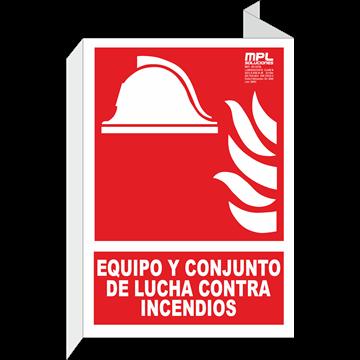 Banderola: Equipo y conjunto de lucha contra incendios