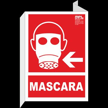 Banderola: Mascara izquierda