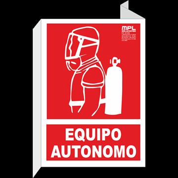 Banderola: Equipo autonomo contra incendios