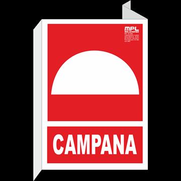 Banderola: Campana