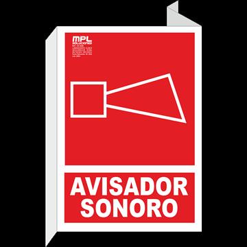 Banderola: Avisador sonoro