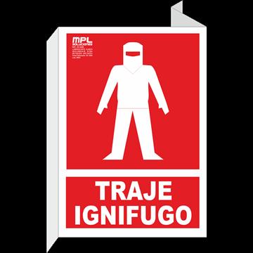 Banderola: Traje ignifugo