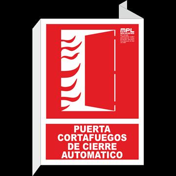 Banderola: PUERTA CORTAFUEGOS