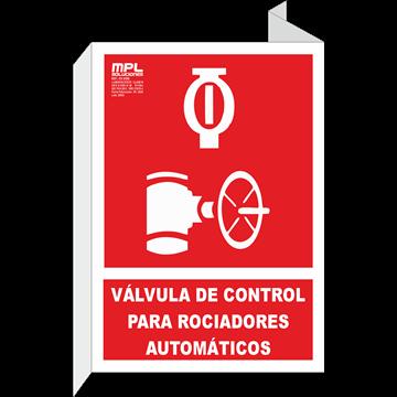 Banderola: VÁLVULA DE CONTROL