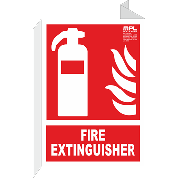 Banderola: FIRE EXTINGUISHER