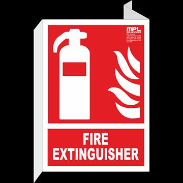 Señal: Boca de incendios abajo