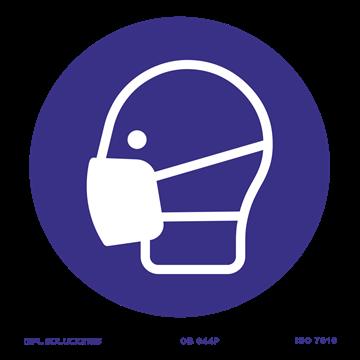 Señal: Uso obligatorio de mascarilla
