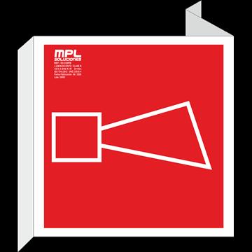 Banderola cuadrada: Avisador sonoro
