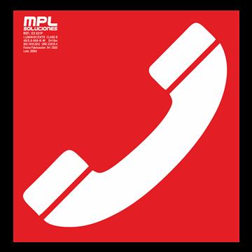 Señal cuadrada: Telefono de emergencia