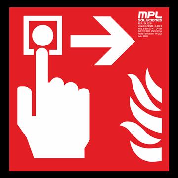 Señal cuadrada: Timbre de alarma derecha