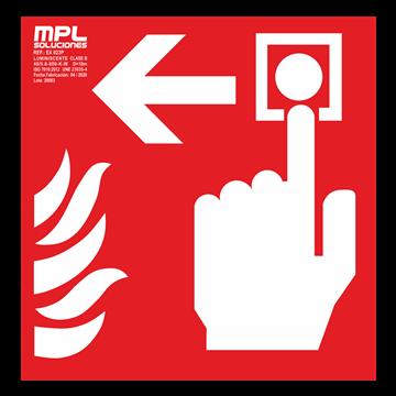 Señal cuadrada: Timbre de alarma izquierda