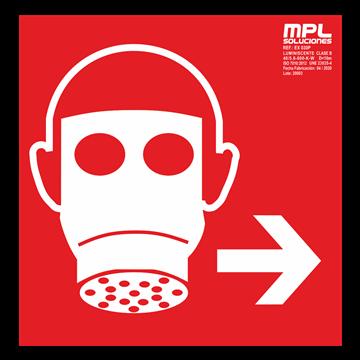 Señal cuadrada: Mascara derecha