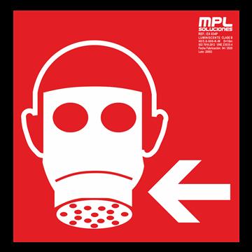 Señal cuadrada: Mascara izquierda