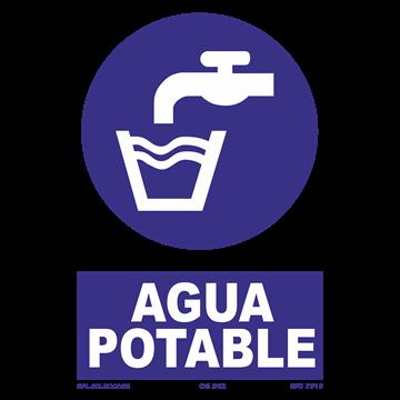 Señal: Agua potable