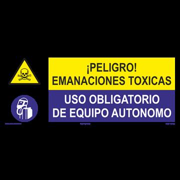 SEÑAL: EMANACIONES TOXICAS - EQUIPO AUTONOMO