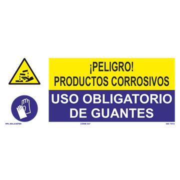 SEÑAL: EMANACIONES TOXICAS - USO DE GUANTES