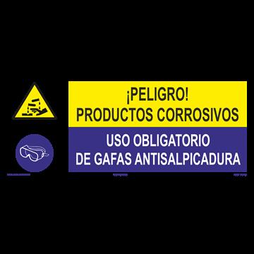 SEÑAL: EMANACIONES TOXICAS - GAFAS ENTISALPICADURA