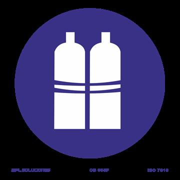 Señal: Botellas llenas