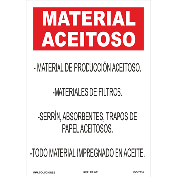 MATERIAL ACEITOSO