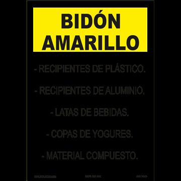 BIDÓN AMARILLOS
