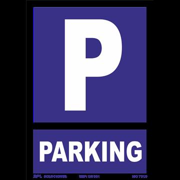 Señal: Parking