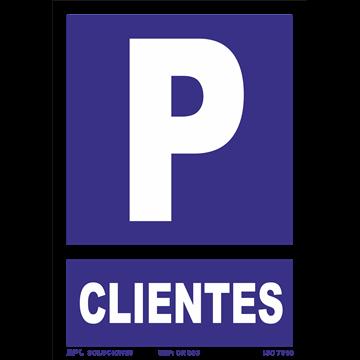 Señal: Parking Clientes