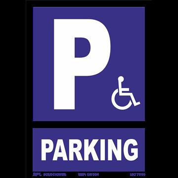 Señal: Parking Minusvalidos
