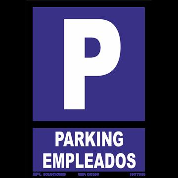 Señal: Parking Empleados