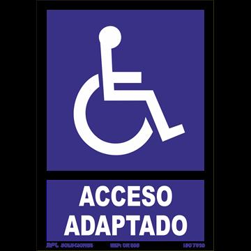 Señal: Acceso Adaptado Minusvalidos