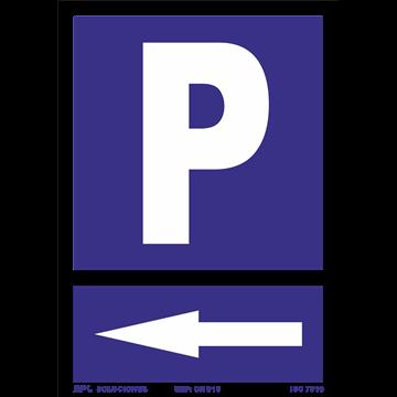 Señal: Parking izq.