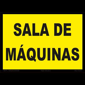 Señal: Sala de Maquinas