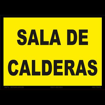 Señal: Sala de Calderas