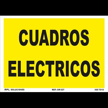 Señal: Modelo: Cuadros Electricos