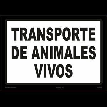Señal: Modelo: Transporte de animales vivos